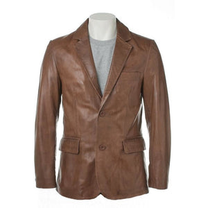 Mens Bixby Leather Coat
