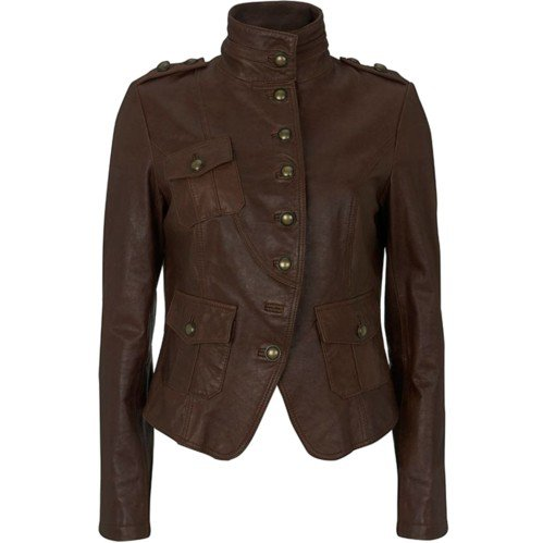 Womens Fada Leather Jacket
