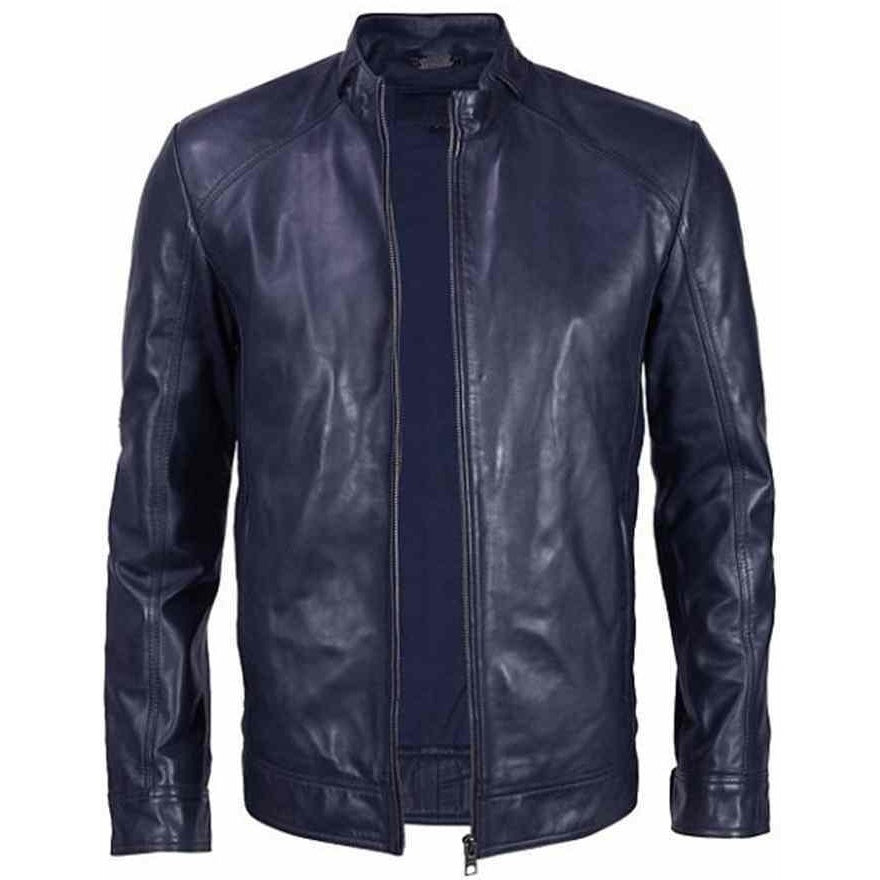 Mens Halem Leather Jacket