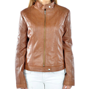 Womens Leather Jacket Riley