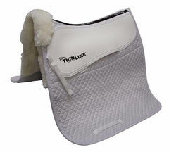 ThinLine Full Sheepskin Square Cotton Dressage Pad