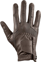 Brown uvex ventraxion riding glove