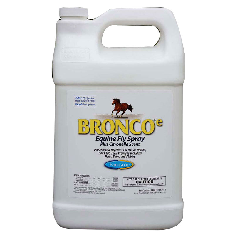 Farnam Bronco Water Based Fly Spray Gallon