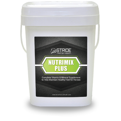 nutrimix plus, stride animal health