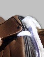 Total Saddle Fit Six Point Saddle Pad Wither Freedom Sheepskin Half Pad