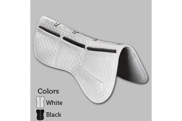 Total Saddle Fit Six Point Saddle Pad Cotton Half Pad