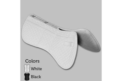 Total Saddle Fit Six Point Saddle Pad Wither Freedom Cotton Half Pad