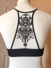 Embroidered Back Bralette