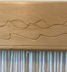 Small Carved Abstract Dunes