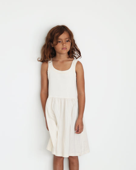 CLASSIC SINGLET DRESS - NATURAL