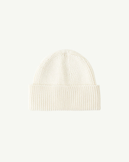 COTTON BEANIE - SNOW