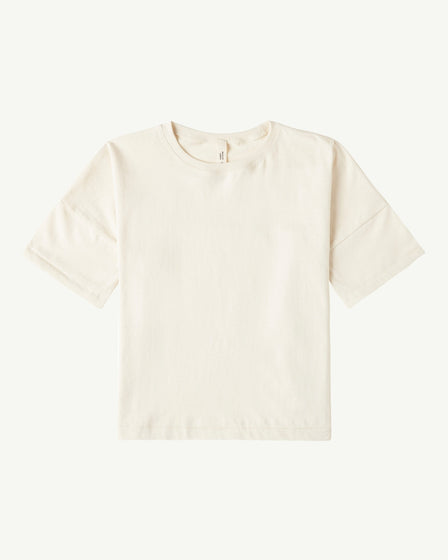 OVERSIZED TEE - NATURAL