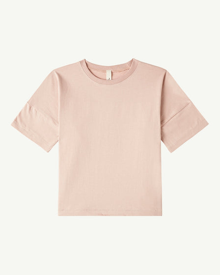 OVERSIZED TEE - DUSTY ROSE