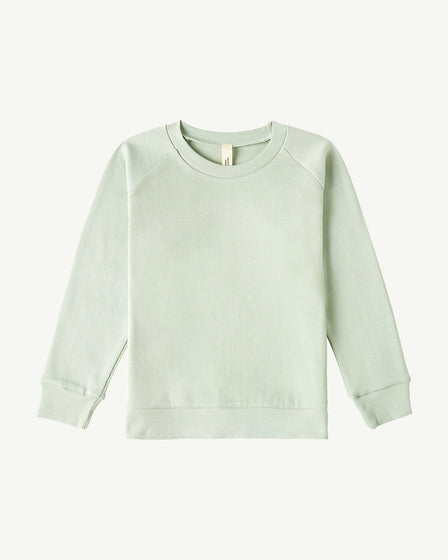 LONG-SLEEVE PULLOVER - SOFT AQUA