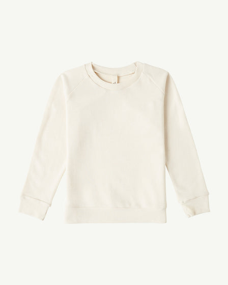LONG-SLEEVE PULLOVER - NATURAL