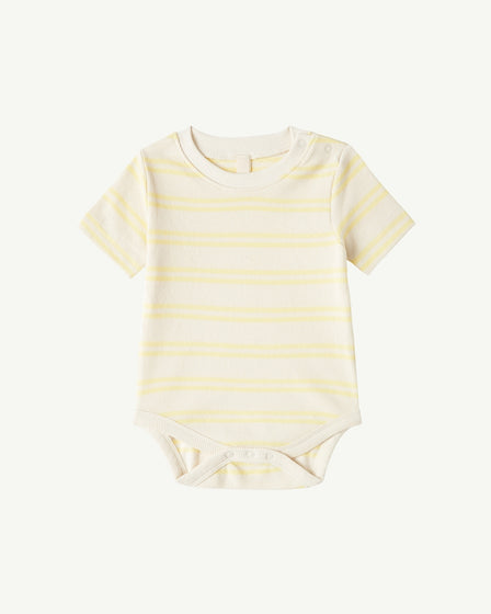SHORT-SLEEVE BODY - YELLOW STRIPE