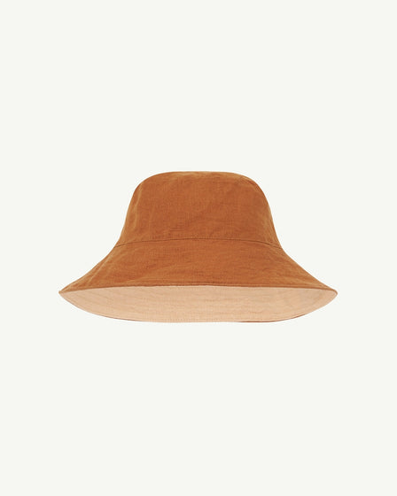 KIDS SUN HAT - TOBACCO AND BISCUIT