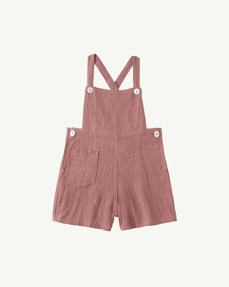 COTTON OVERALLS - BLUSH