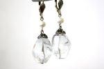 Chunky Quartz Crystal Sterling Silver Earrings -from Capital City Crafts