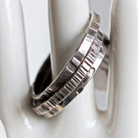 Unisex Sterling Silver Textured Ring Stack of 3 -from Capital City Crafts