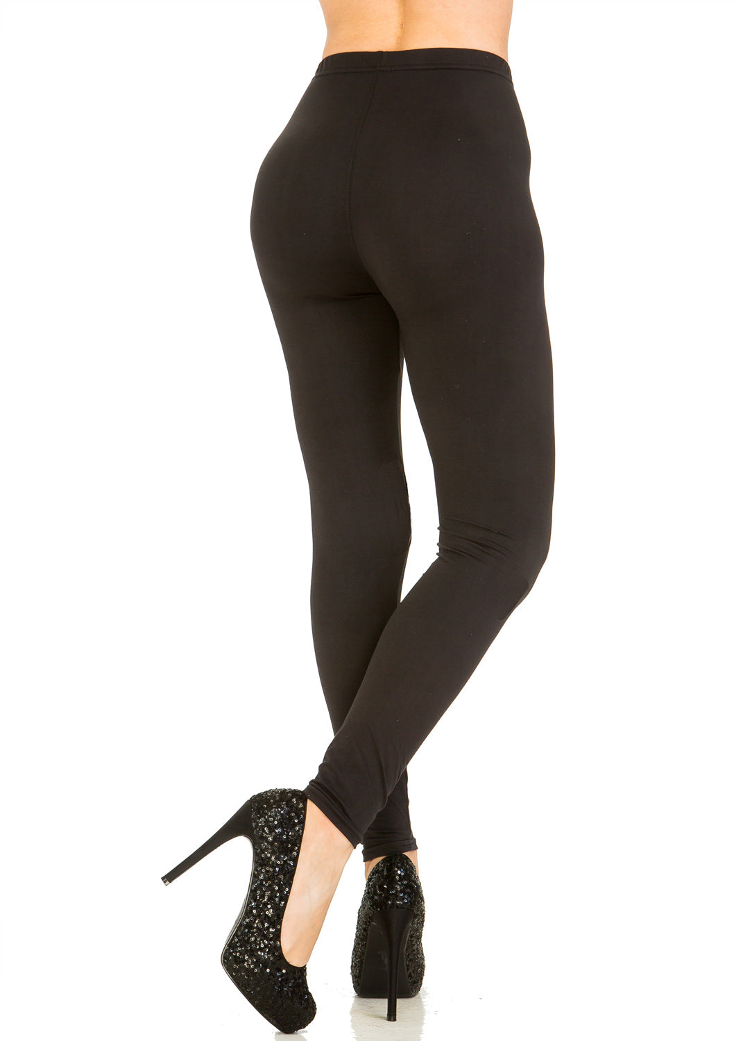 Solid Black Leggings