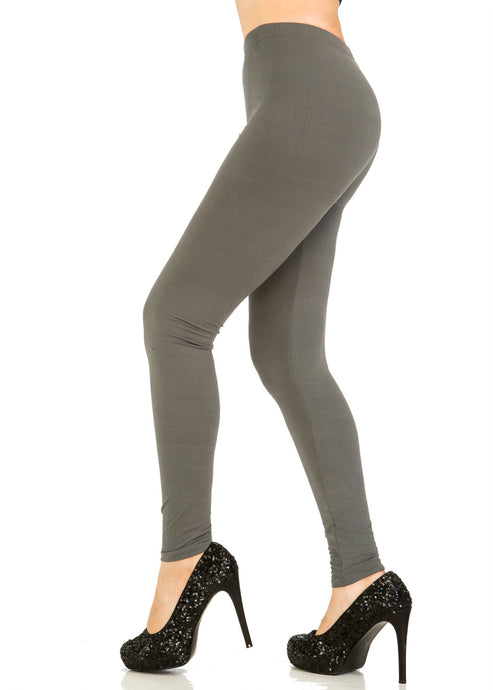 Solid Grey Leggings