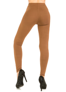 3 PCS Solid Rust Leggings Pack