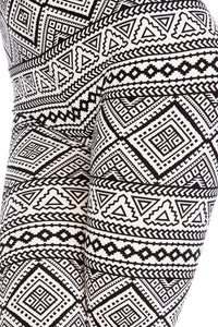 Secret Abstract Capri Leggings