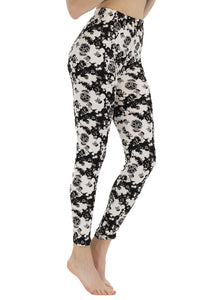 Happy Skull Leggings