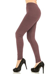 Solid Mauve Leggings