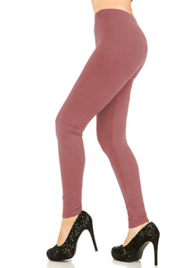 3 PCS Solid Rose Leggings Pack