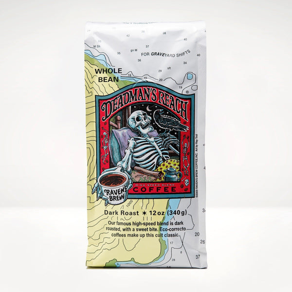 Deadman's Reach® Poetry Magnet Set with Coffee