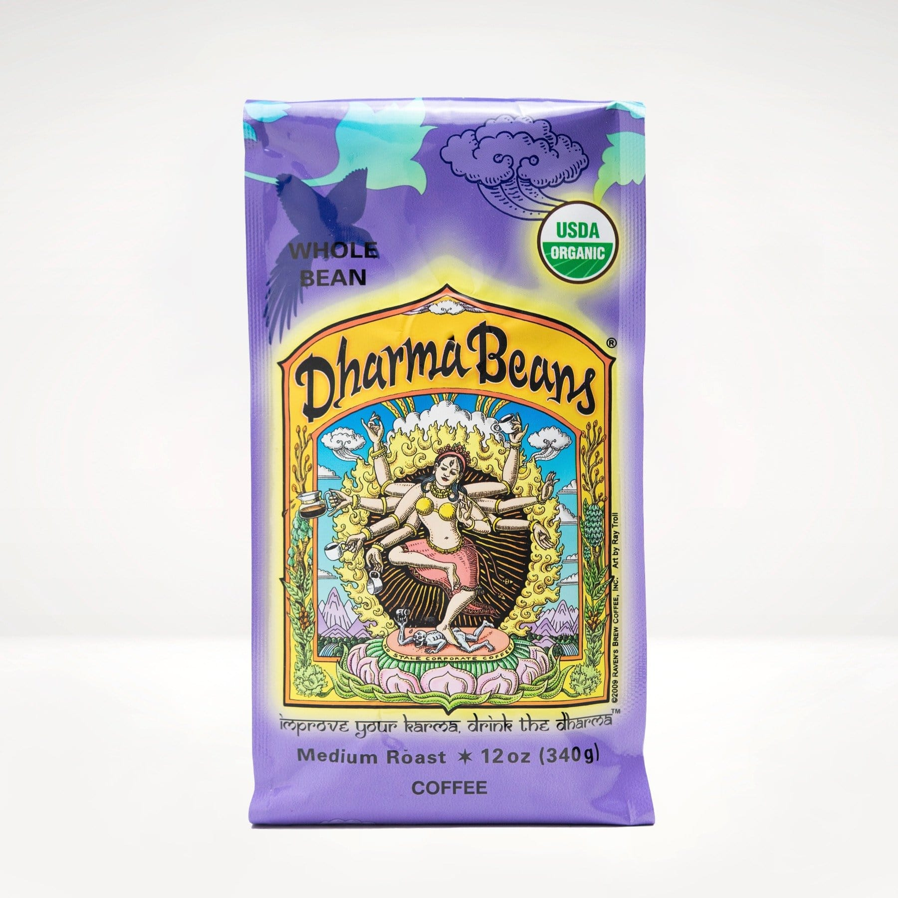 12oz Organic Dharma Beans® Coffee