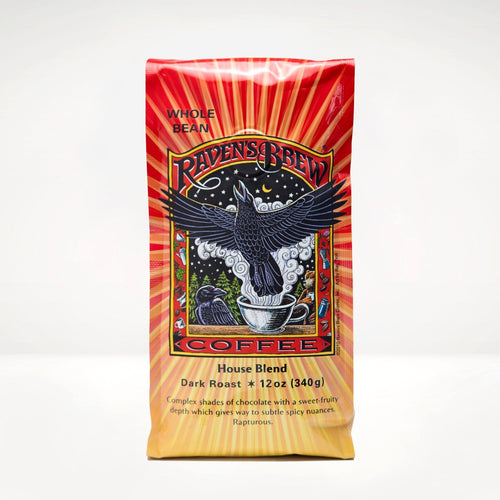 12oz Raven's Brew® House Blend Coffee
