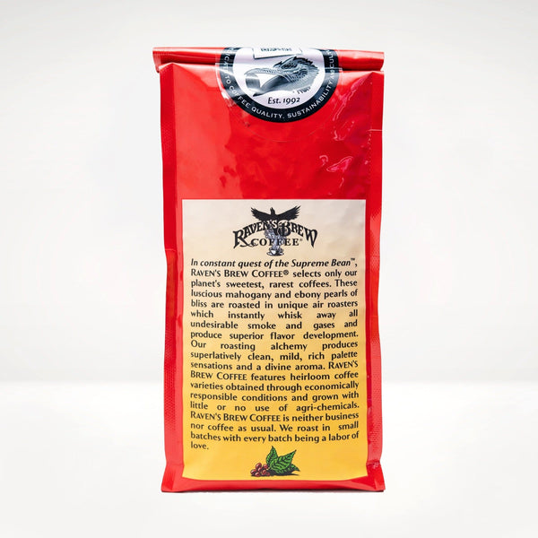 12oz Organic Ebony Pearls™ Coffee