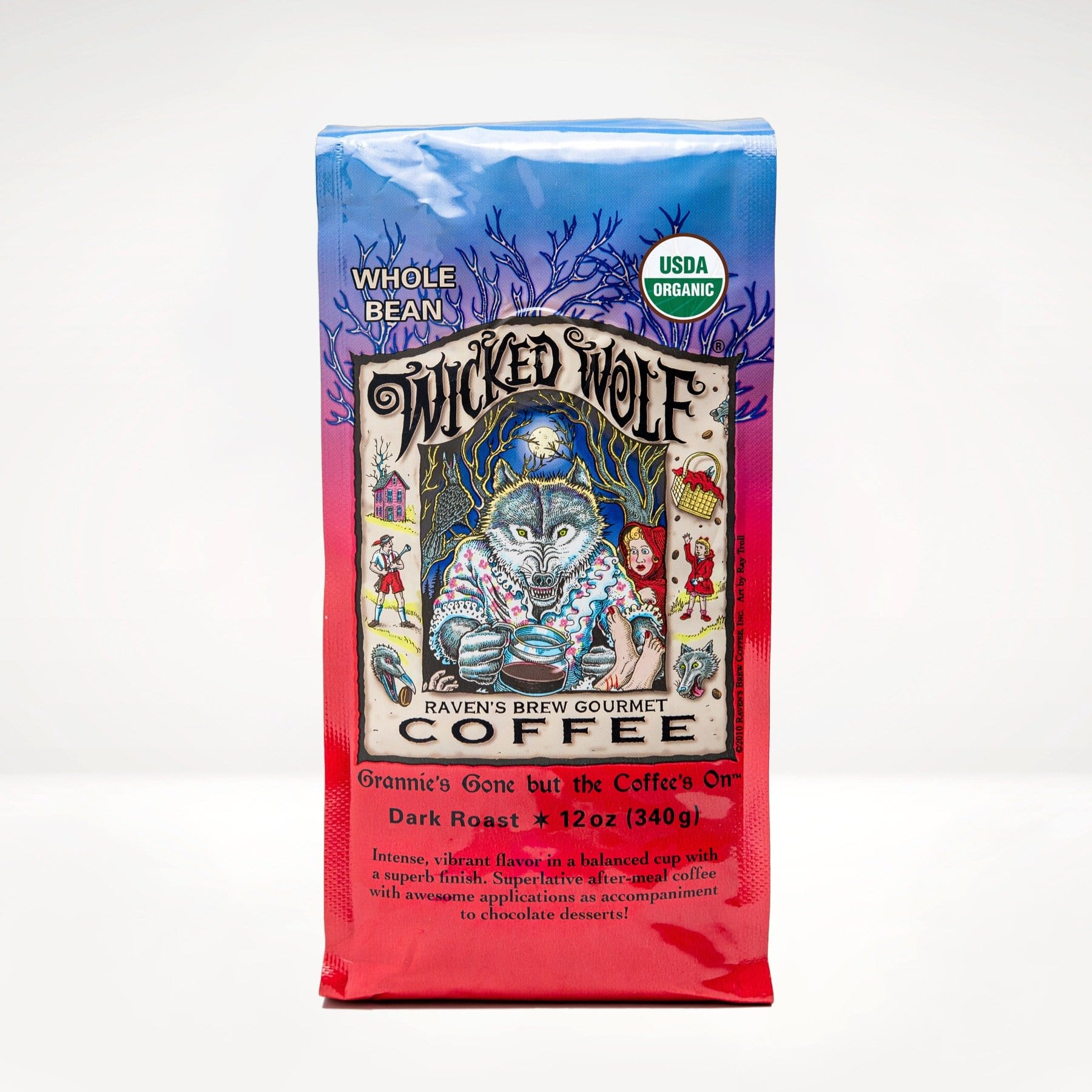 12oz Organic Wicked Wolf® Coffee