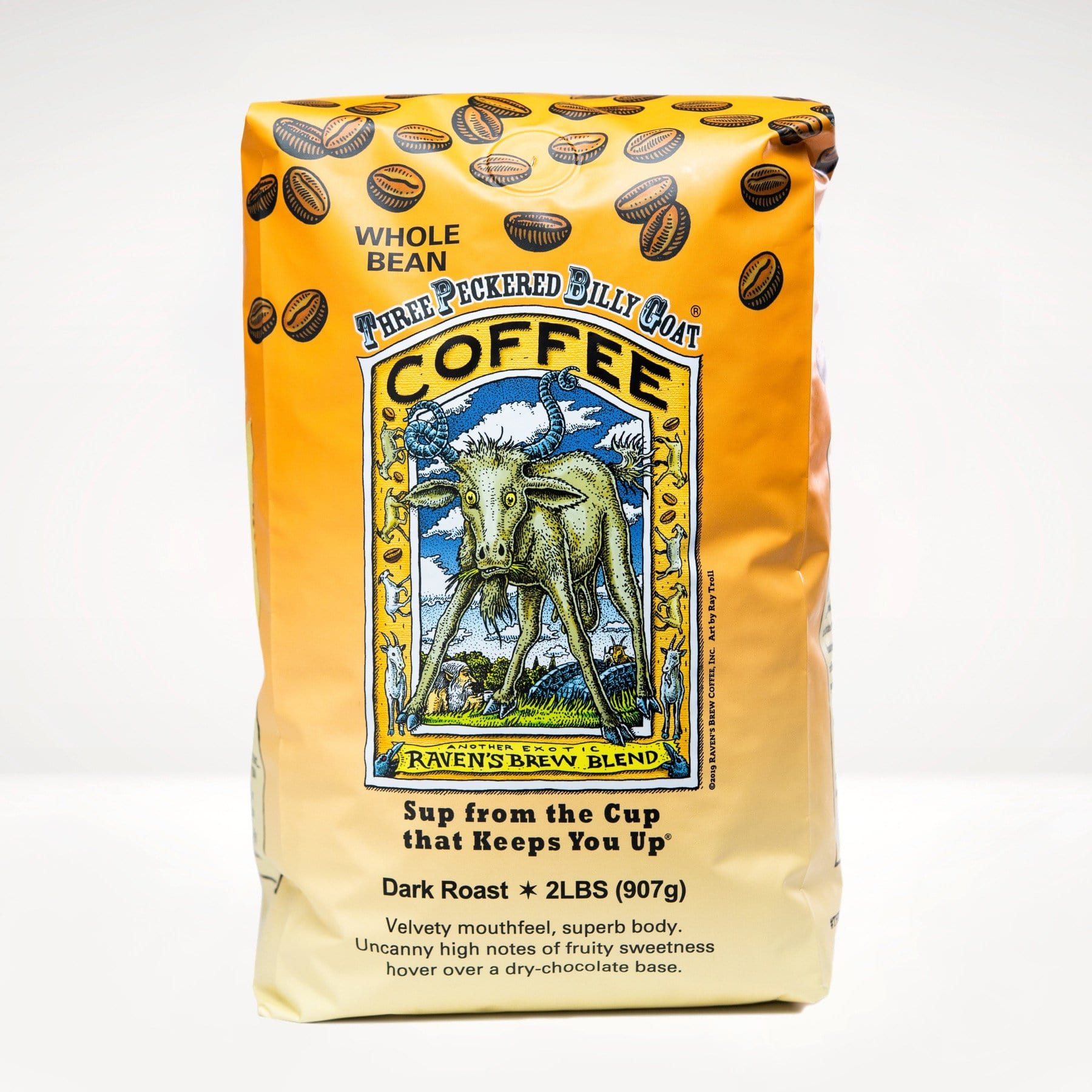 2lb Three Peckered Billy Goat® Coffee