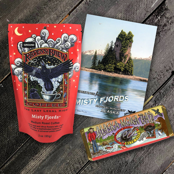 Special Edition Misty Fjords™ Coffee Alaska Taster Set