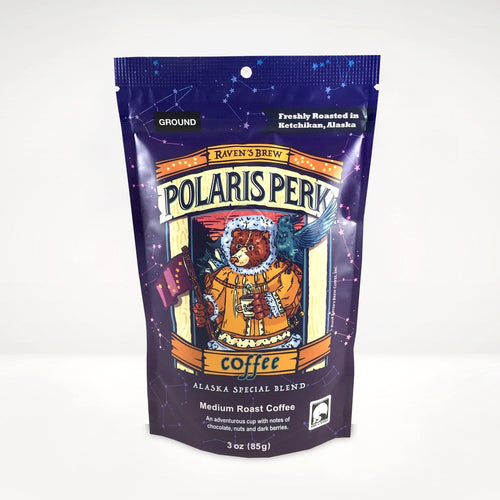 3oz Polaris Perk™ Alaska Blend Coffee