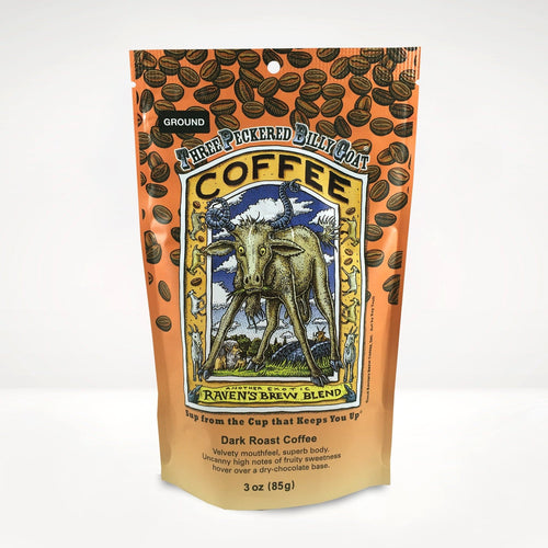 3oz Three Peckered Billy Goat® Coffee