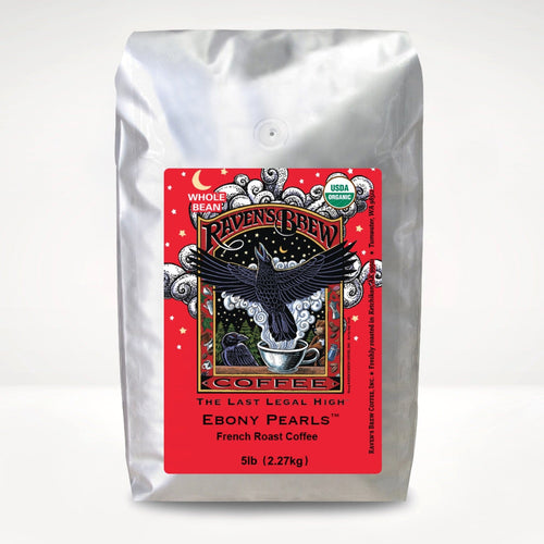 5lb Organic Ebony Pearls™ Coffee