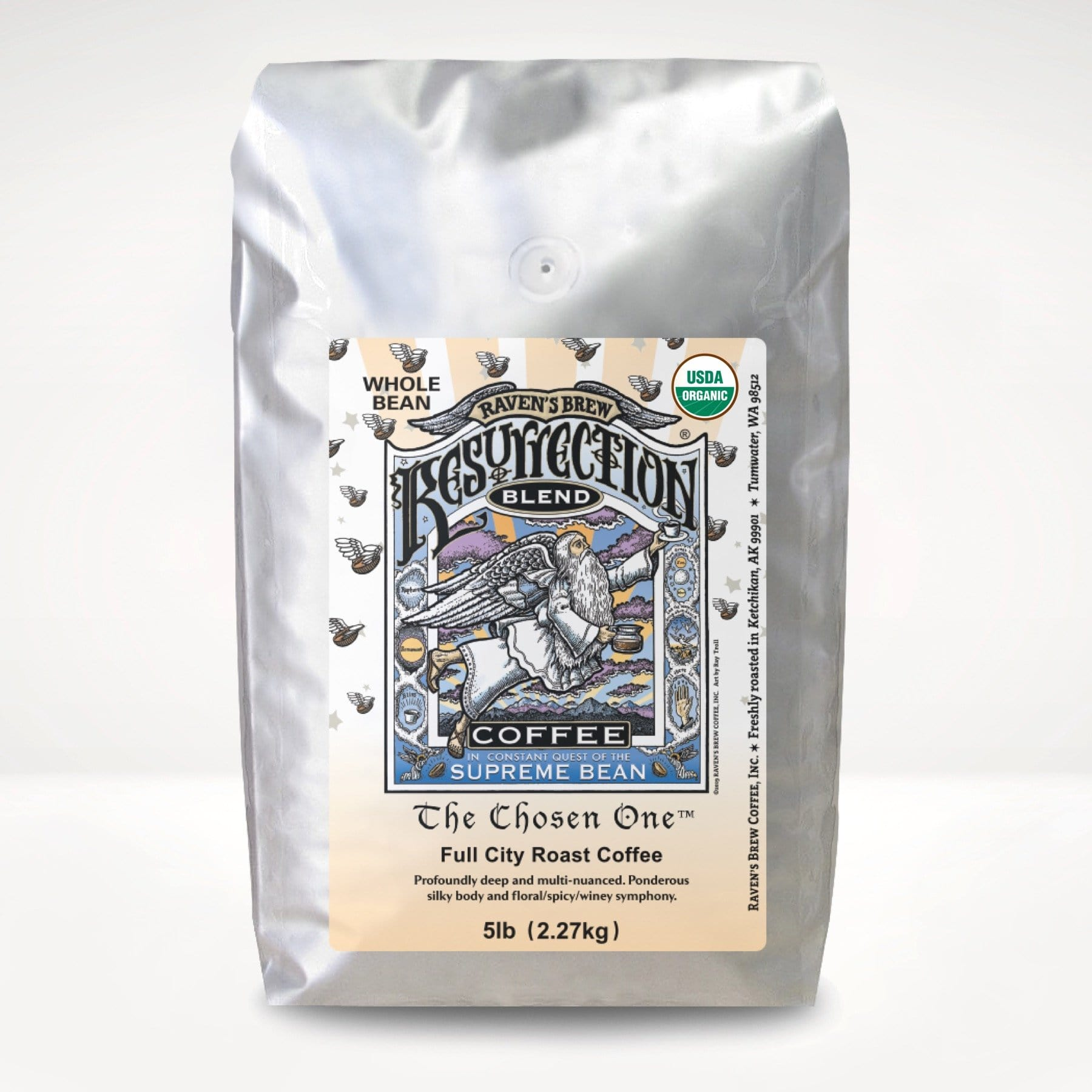 5lb Organic Resurrection Blend® Coffee