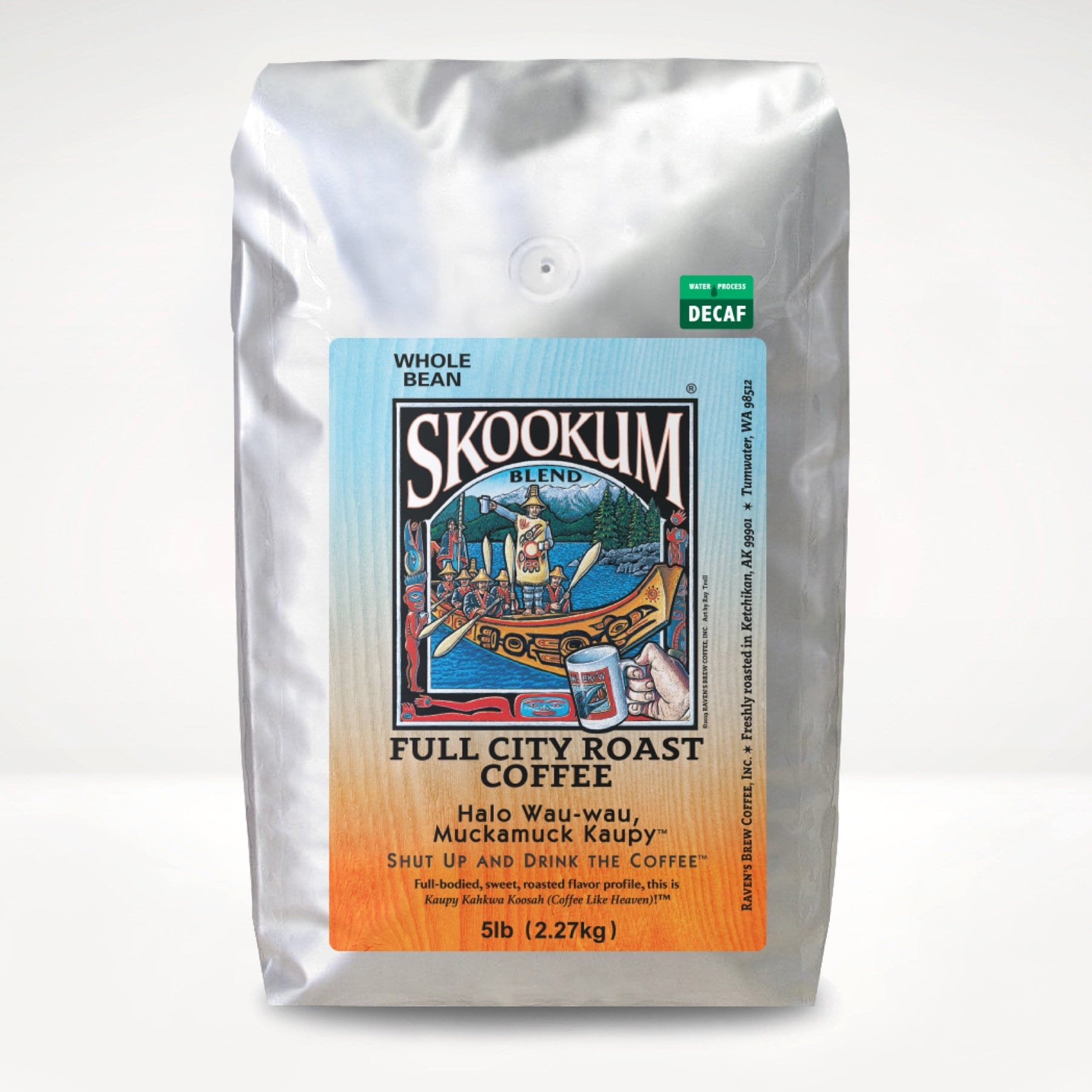 5lb Decaf Skookum® Blend Coffee