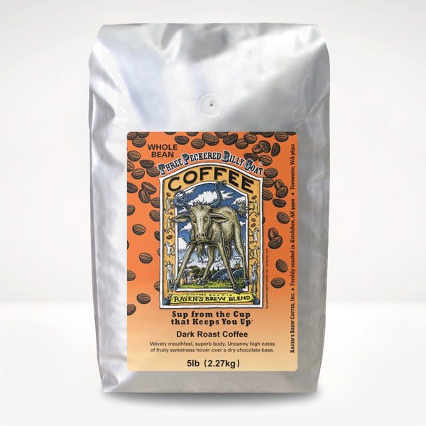 5lb Three Peckered Billy Goat® Coffee