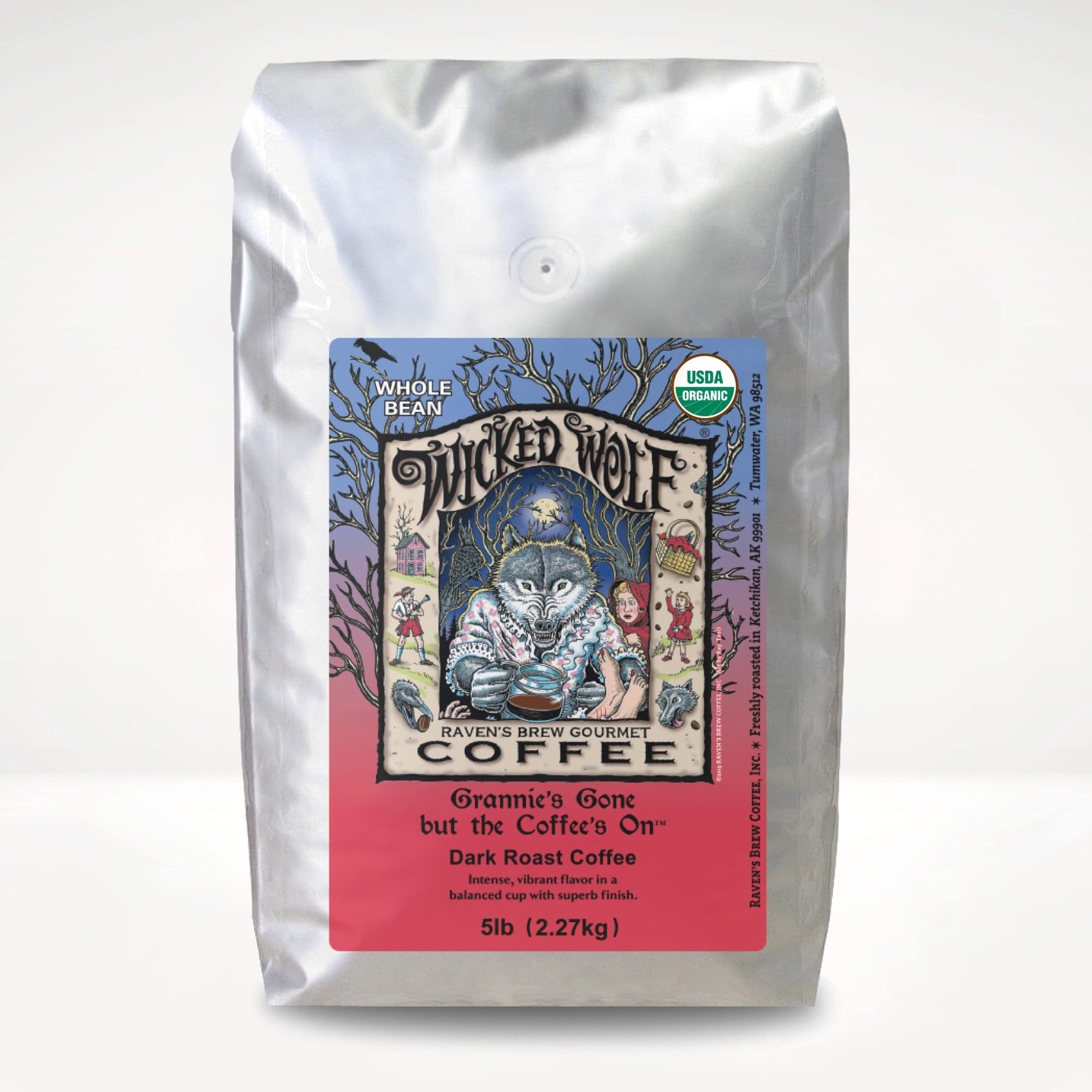 5lb Organic Wicked Wolf® Coffee