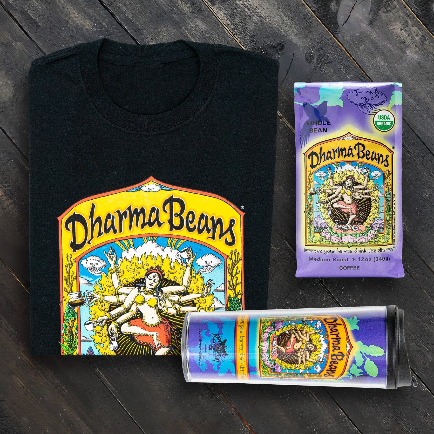 Adventure Pack with Dharma Beans® Coffee