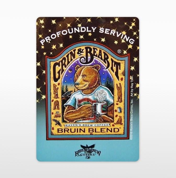 Bruin Blend® Label Art Cling