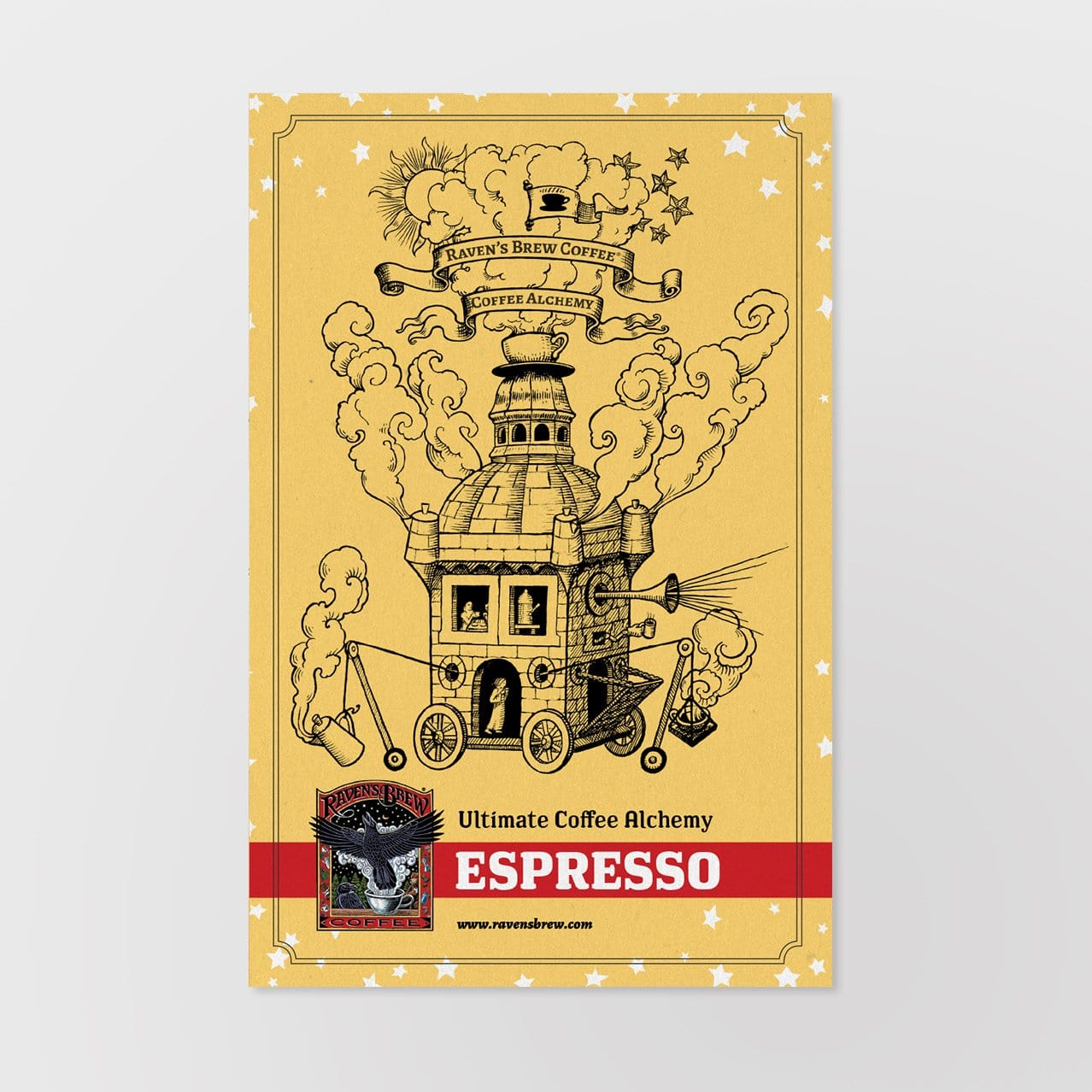 Ultimate Coffee Alchemy Card: Espresso