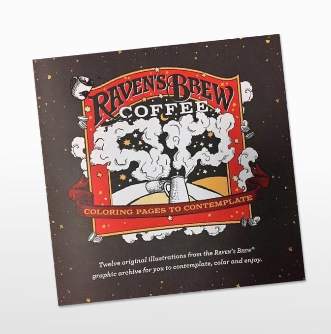 Raven's Brew Coffee® Coloring Book