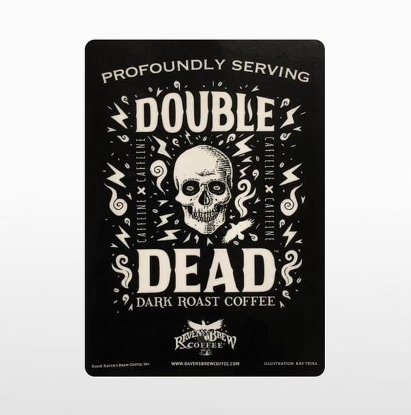 Double Dead® Label Art Cling
